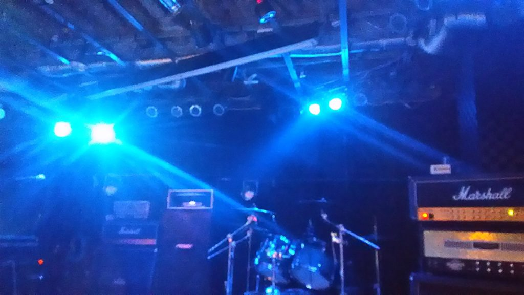 ライブハウスの雰囲気