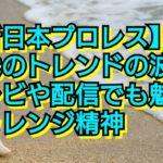 【新日本プロレス】時代のトレンドの波に!テレビや配信でも魅せるチャレンジ精神