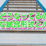 【新日本プロレス】これどうなってるの?特殊な試合形式とルール