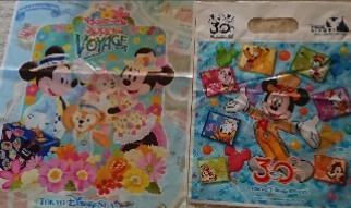 ディズニー30周年お土産袋