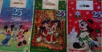 ディズニー25周年お土産袋