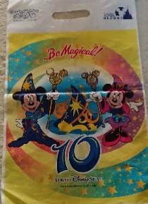 ディズニー10周年お土産袋